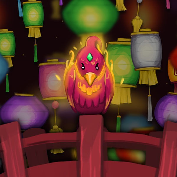 Lanterns Year of the Rat Phoenix